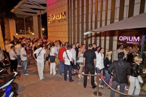 Imagem da discoteca Opium, em La Barceloneta