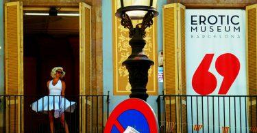 Imagem do Museu Erótico de Barcelona