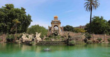 A fonte do Parc de la Ciutadella