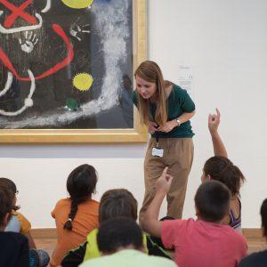 Atividades na Fundação Joan Miró
