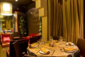 Deliciosas receitas indianas no restaurante Bembi