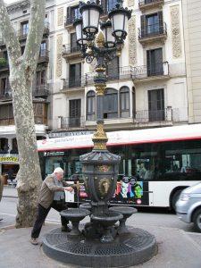 Font de Canaletes, palco das celebrações do FC Barcelona