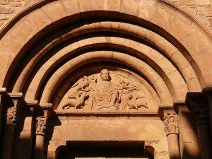 Frontal da igreja de Sant Pere d'Or, Santpedor