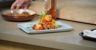 Imagem de prato preparado em competição