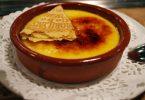 Pratos típicos, la crema catalana