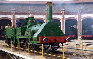 Tren del Centenari, Museu del Ferrocarril de Catalunya
