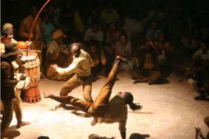 Tradição histórica da capoeira
