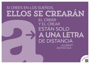 """Albert Espinosa: """"Se você crê nos sonhos, eles se criarão"""""""