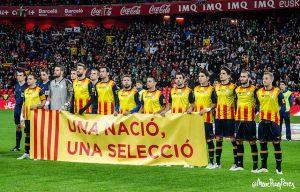 Seleção da Catalunha: ainda não oficialmente reconhecida