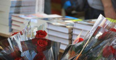 Imagem de flores e rosas da Diada de Sant Jordi