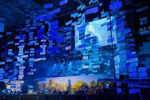 Músicas em catalão no Palau Sant Jordi