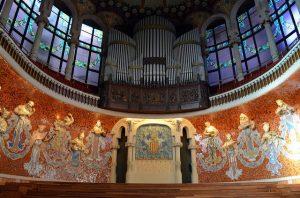 Palau de la Música, um dos símbolos da arquitetura modernista catalã