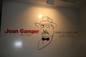 Joan Gamper, fundador do FC Barcelona e um dos personagens principais do futebol catalão
