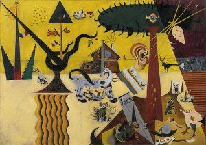 Terra Llaurada, considerada a primeira obra surrealista de Joan Miró