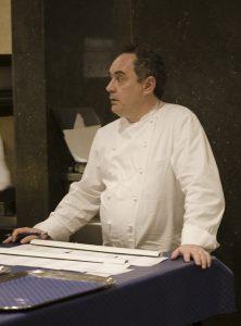 Ferran Adrià, um dos melhores representantes da culinária catalã atual