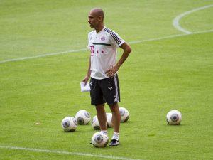 Pep Guardiola em sua etapa na Alemanha
