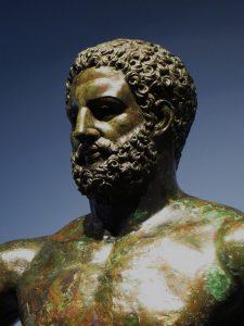 Hércules, associado à origem do nome Barcelona