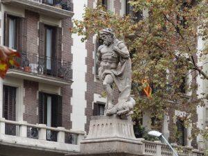 De acordo com a mitologia, Barcelona foi fundada por Hércules