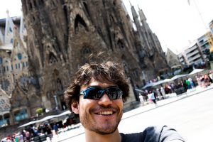A Sagrada Família é um ótimo lugar para grandes selfies