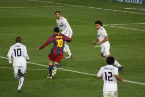 Messi, um dos grandes nomes da rivalidade