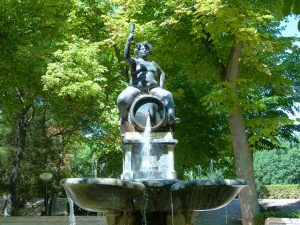 Representação de Baco, o deus do vinho e dos prazeres
