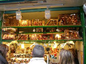 Produtos de Natal na Fira de Santa Llúcia