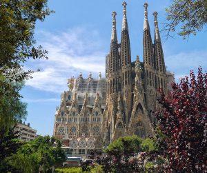 A Sagrada Família, uma das sete maravilhas de Barcelona