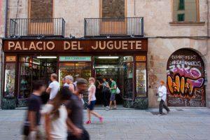 A loja Palacio del Juguete é uma das mais tradicionais vendedoras de brinquedo em Barcelona
