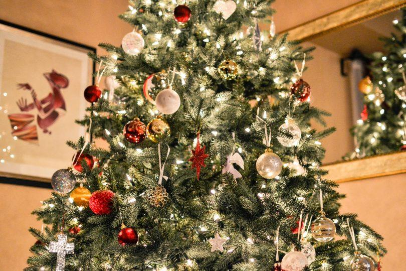 Imagem de uma árvore de Natal