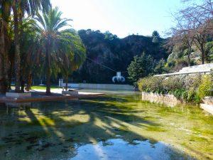 O lago do Parque da Creueta del Coll é o espaço preferido durante o verão