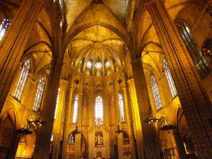 A Catedral de Santa Eulàlia testemunhou importantes mudanças ao longo dos séculos