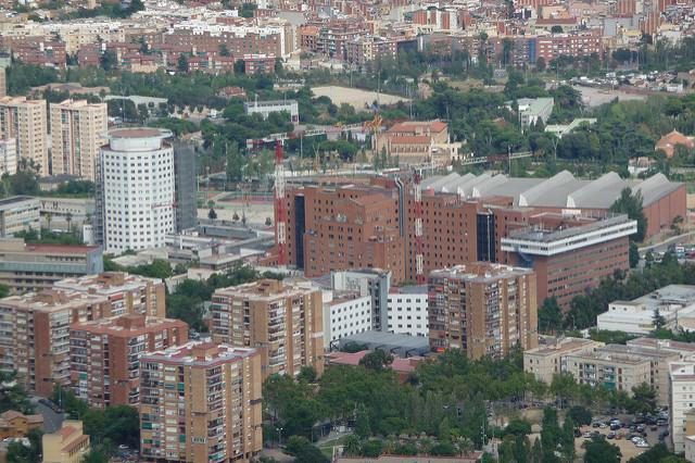 A Ciudad Sanitaria Vall d'Hebron é um dos principais complexos médicos da Espanha