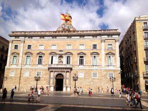 O Palau de la Generalitat de Catalunya é um dos grandes centros do bairro Gótico