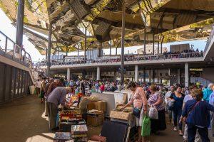 O mercado de Encants possui uma história de quase oito séculos