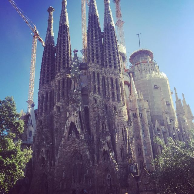 No need to introduce it  sagradafamilia basilica monument barcelonahellip