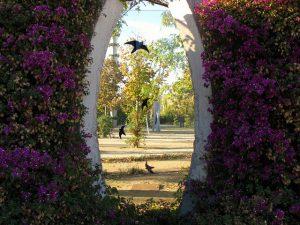 A beleza do Parc del Centre del Poblenou certamente encantará suas crianças