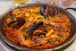 A culinária mediterrânea é uma das marcas registradas dos restaurantes de Horta-Guinardó
