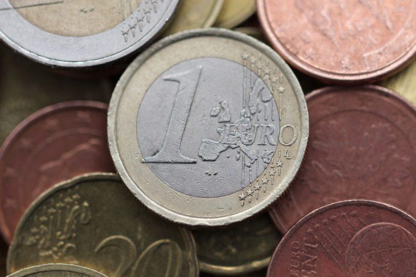 Imagem de moeda de um euro