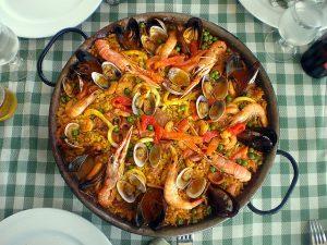 Paella e Barceloneta, uma combinação perfeita!