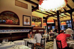 O cardápio do 7 Portes, que inclui uma deliciosa paella, é um dos melhores de Barcelona