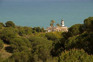 O Far Calella, em Calella, é um dos pontos turísticos da Costa del Maresme