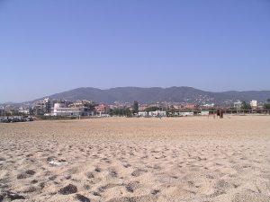 As praias de Premiá de Mar são umas das melhores da Costa del Maresme
