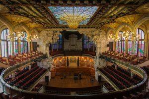 Barcelona é especial por lugares como este: o Palau de la Música Catalana