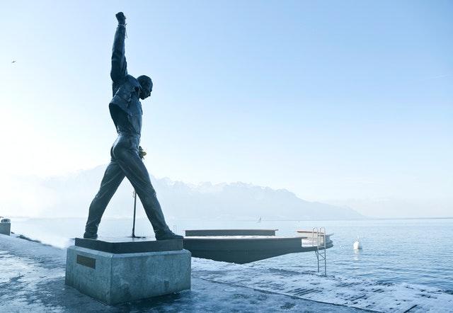 Estátua de Freddie Mercury