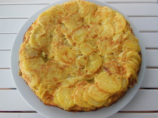 Um dos pratos mais apreciados na Espanha: Tortilla