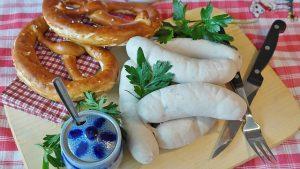 Imagem de salsichas brancas
