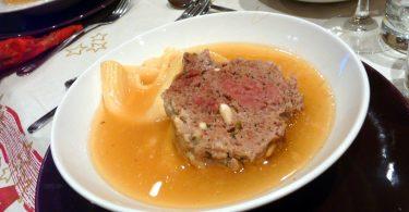Imagem de um prato de escudella i carn d'olla