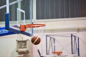 Imagem de quadra de basquete