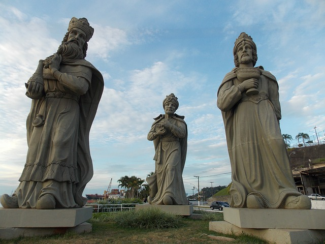 Estátua dos reis magos