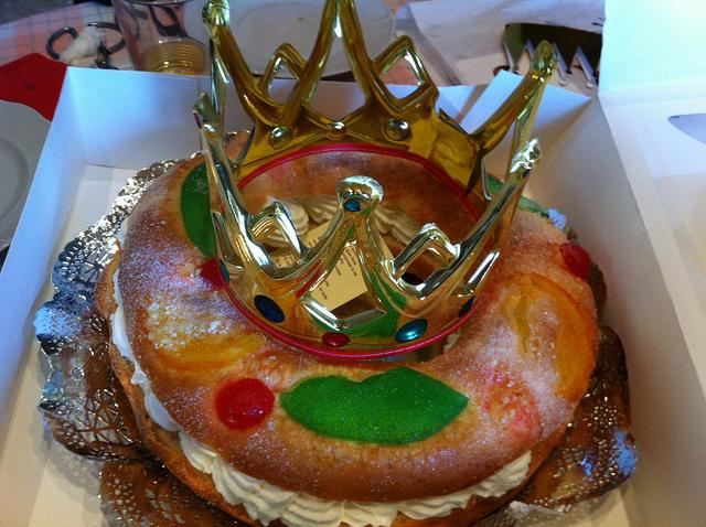 O tradicional doce servido no DIa dos Reis